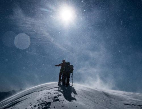 Skitourenlager in Mutschnengia