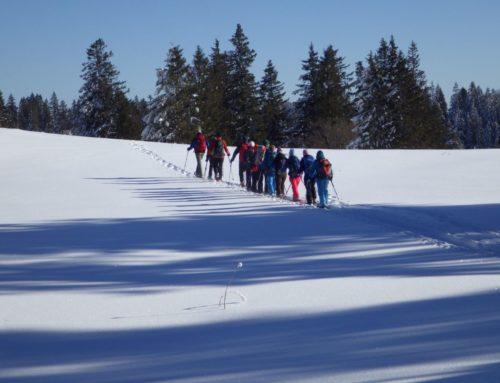 Schneeschuhtour Creux du Van mit Rita & Jean-Daniel | 19.01.19