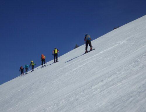 Die Pointe vom Zyschtig – Skitour mit Bruno und Silvia | 19.02.19