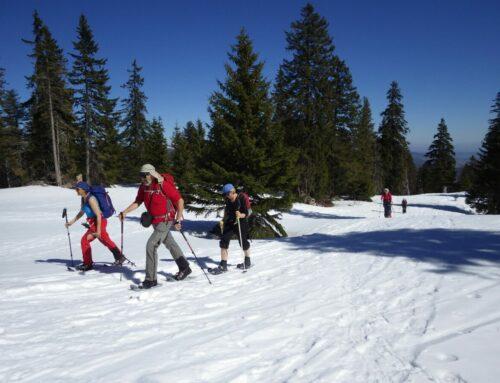 La Dôle 1677 m  – Schneeschuhwandern mit Rita und Jean-Daniel | 23.03.2019