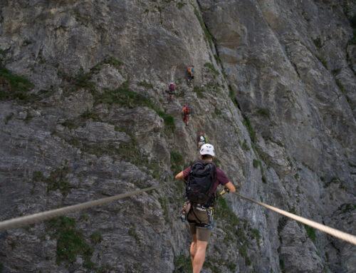 Klettersteigausbildung in und um Frutigen