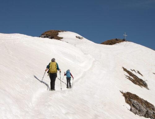 Spontane Dienstags- Schneeschuhtour 2. März 2021