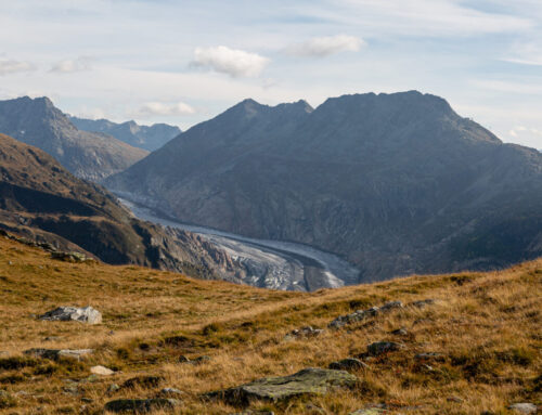Sparrhoru 3020 m – Blick auf schreege Gletscherwelten 28.09.21